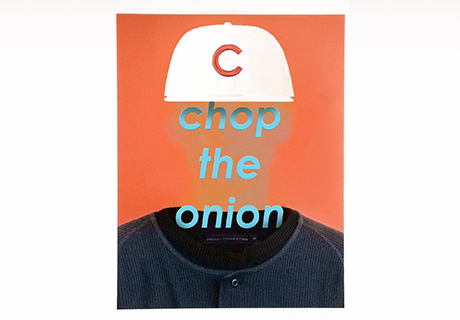chop the onion